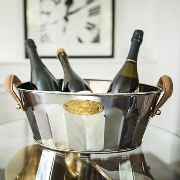 Heritage Leather Handled Champagne Bath