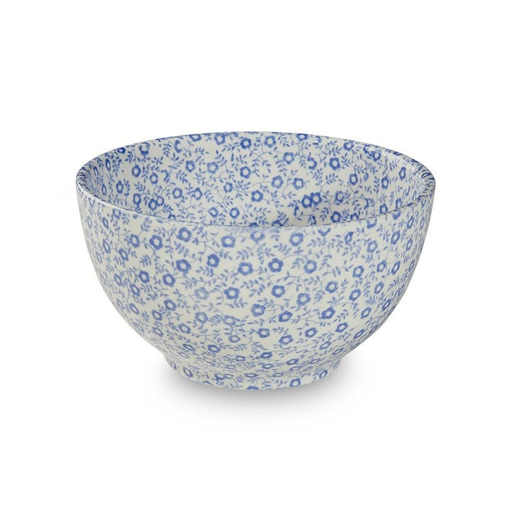 Felicity Footed Bowl, Mini, Blue
