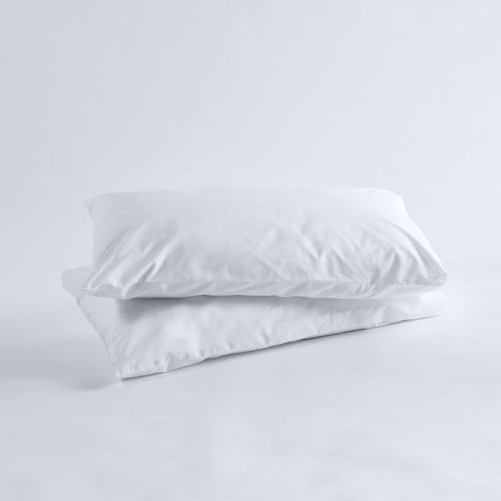 Crisp & Cool Organic Super King Pillowcases, Set of 2