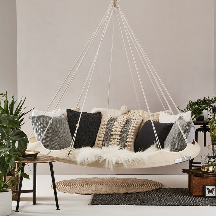 TiiPii Nester Hanging Bed - 1.8m; Charcoal