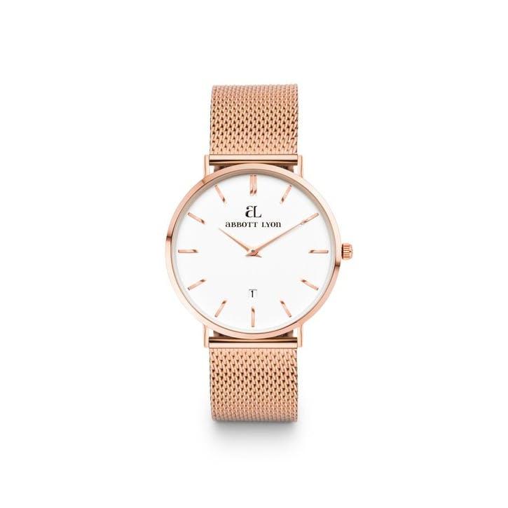 Kensington Chain 34 Watch, Rose Gold