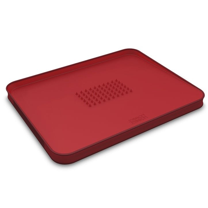 Cut&Carve Plus Chopping Board, Large, Red