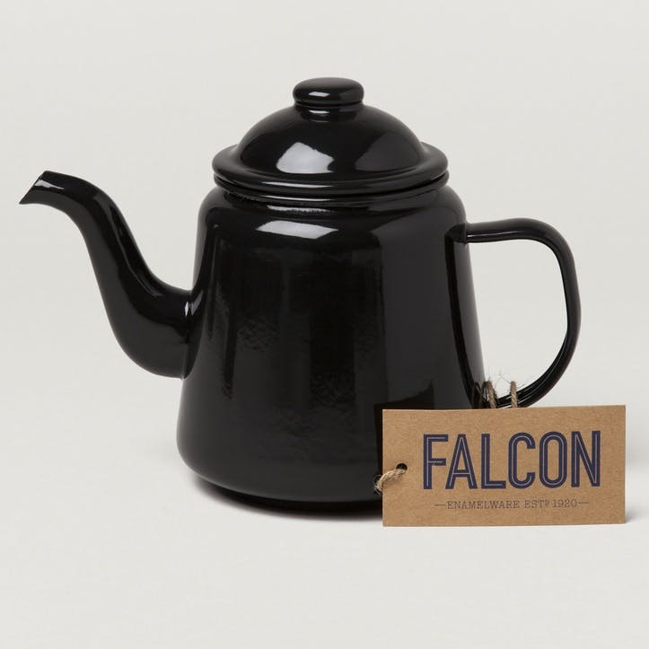 Teapot, Coal Black