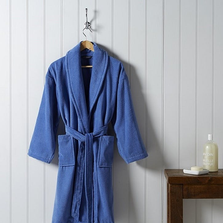 Supreme Supima Hygro Deep Sea Bath Robe, Small