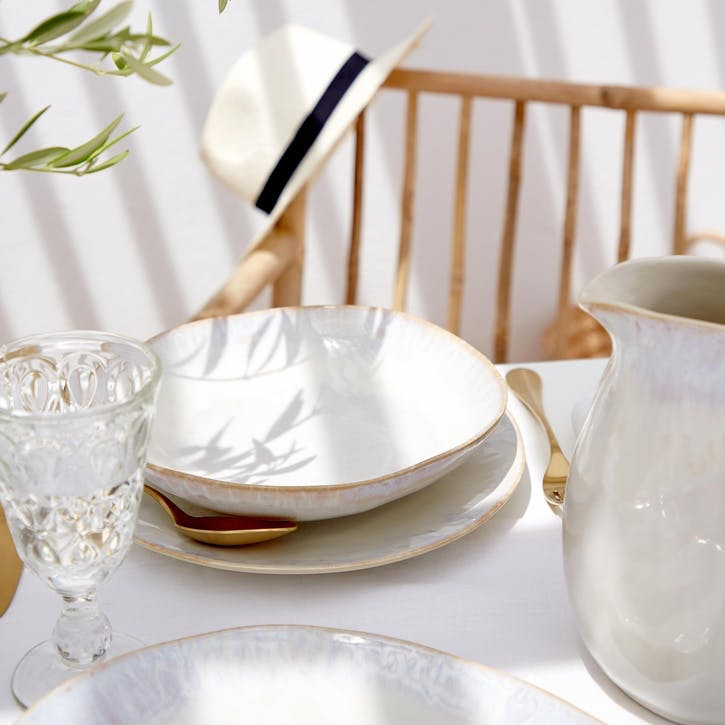 Brisa Salt Dinner Plates, Set of 6