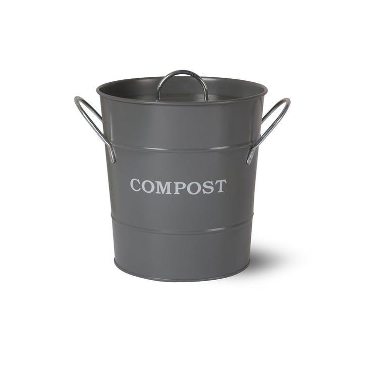Compost Bucket, Charcoal