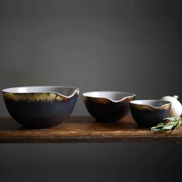 John Whaite Nesting Bowl, Set of 3, Blue