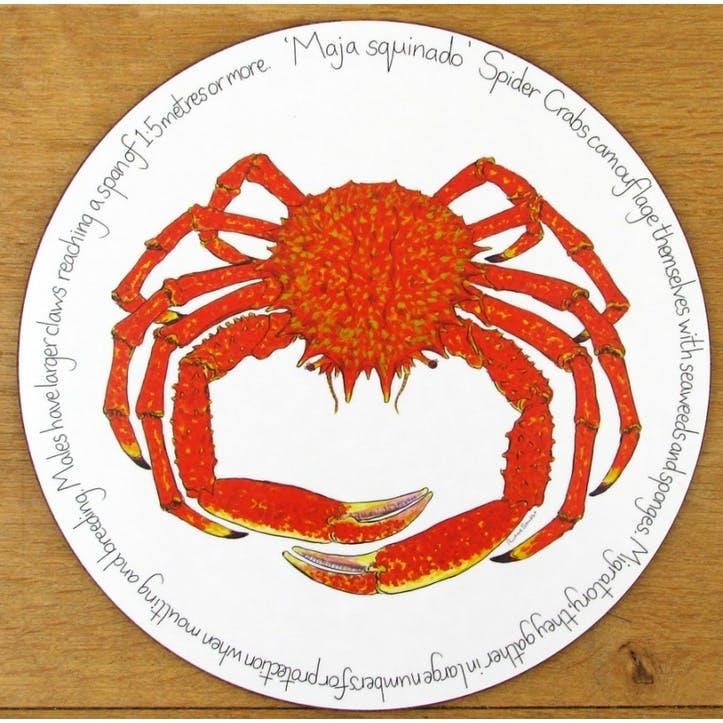 Spider Crab Tablemat - 28cm