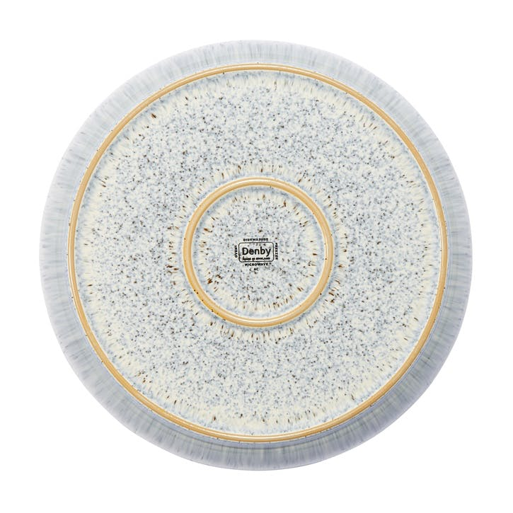 Halo Speckle Coupe Dinner Plate, 26cm, Blue