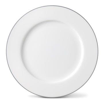 Rainbow Dinner Plate, Stone Grey