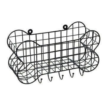 Dog Bone Wire Storage Shelf, L