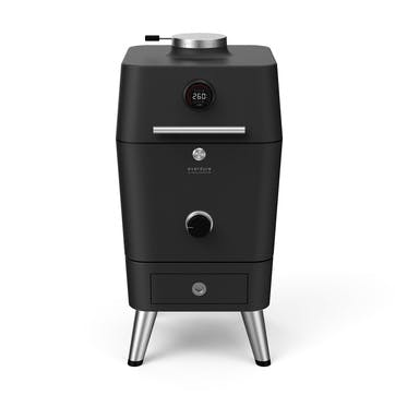 4k Electric Ignition Charcoal Outdoor Oven, Graphite