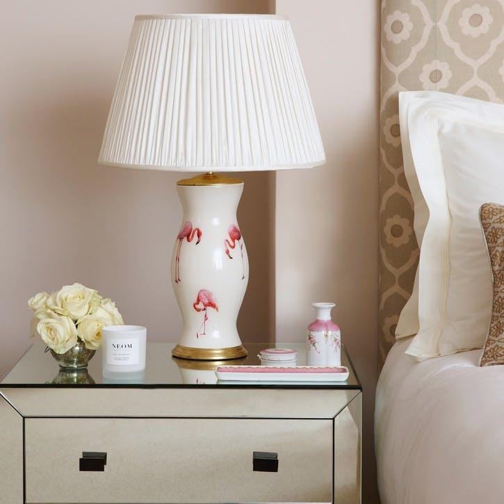 'The Pink Ladies' Flamingo Lamp Base, Medium