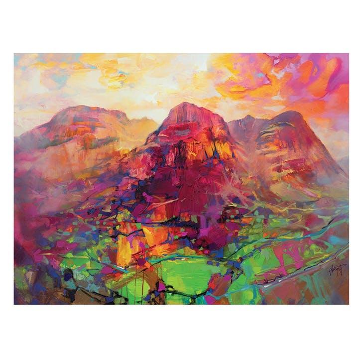 Scott Naismith Glencoe Harmonics Canvas Print, 30 x 40cm