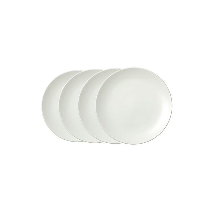 Perfect White Side Plate, Set of 4