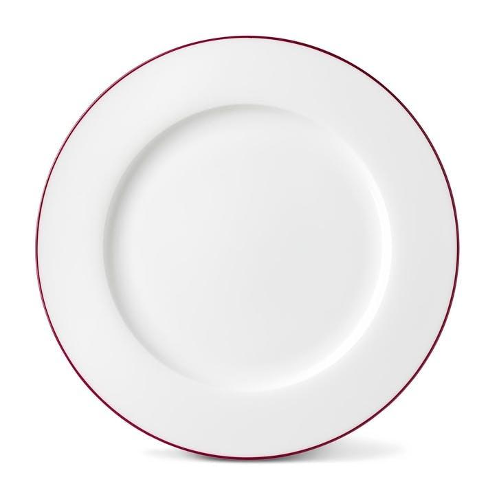 Rainbow Dinner Plate, Cerise Pink