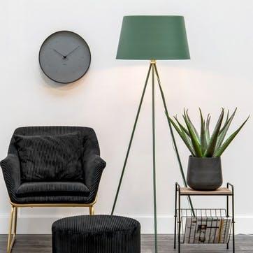 Tripod Floor Lamp, Green
