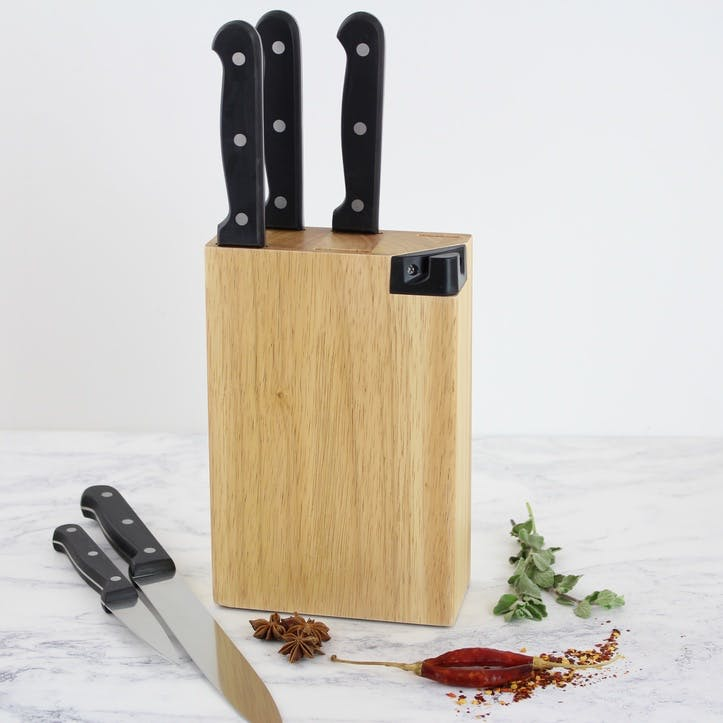 Sabatier IV 5 Piece Knife Block Set