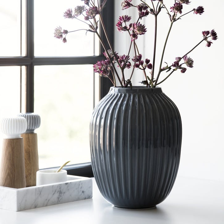 Hammershøi Vase, Large, Anthracite