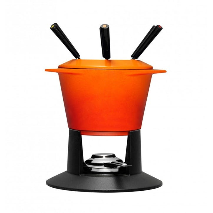 Cast Iron Gourmand Fondue, Volcanic