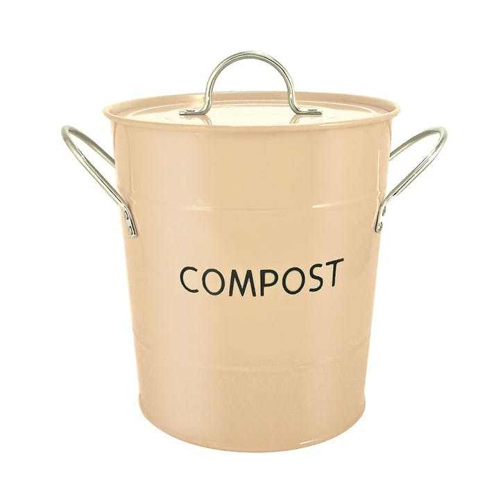 Cream Compost Pail, 3.2l