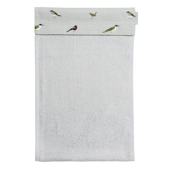 'Garden Birds' Roller Hand Towel