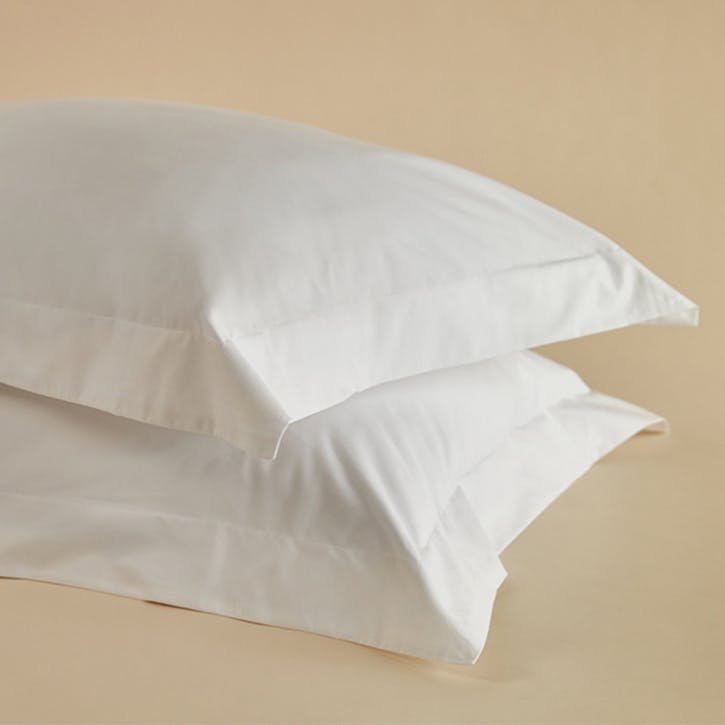 Crisp & Cool Organic Oxford Pillowcases, Set of 2