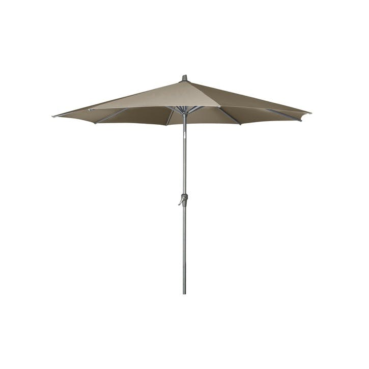 Riva Round Parasol - 2.5m; Taupe