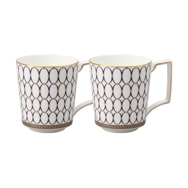 Renaissance Gold Mug, Set of 2
