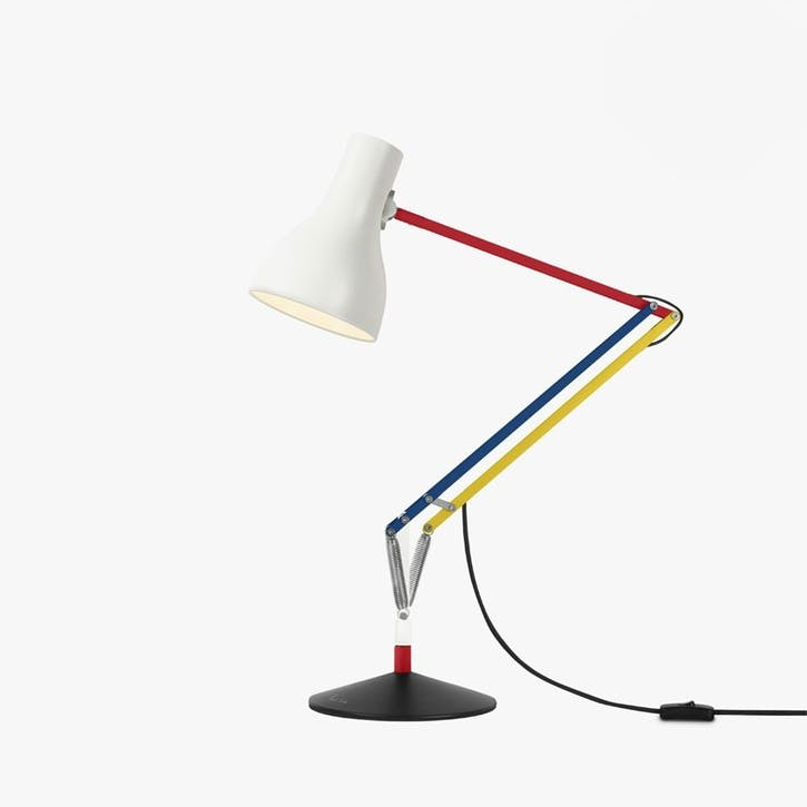 Desk Lamp Multicolours and White