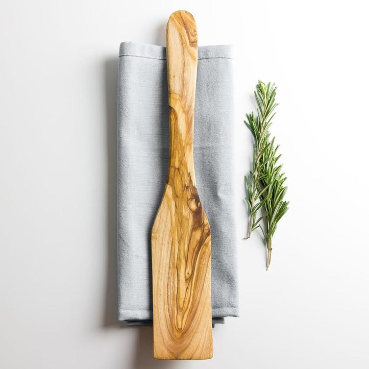 Traditional Olive Wood Spatula - 33cm