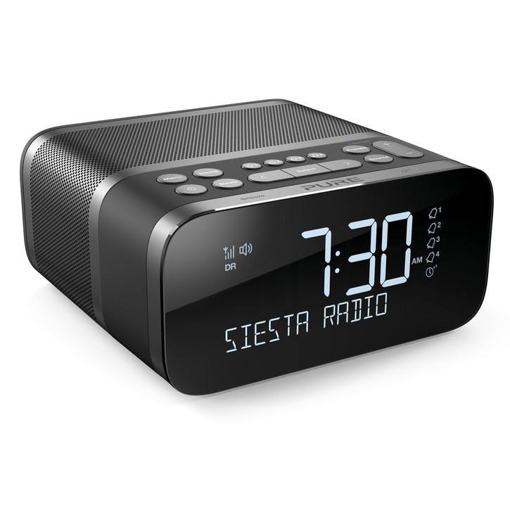 Siesta S6 DAB Alarm Clock Radio, Graphite