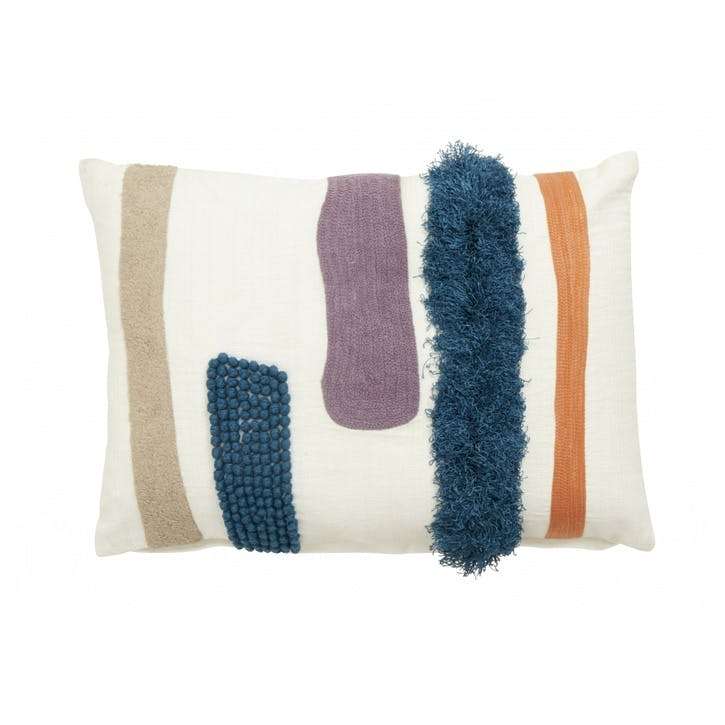 Abstract Textured Cushion
