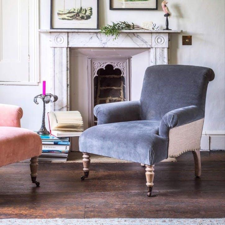 Bella Velvet Armchair