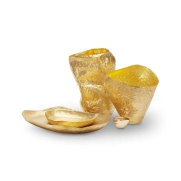 Bash Vessel - Wide; Brass