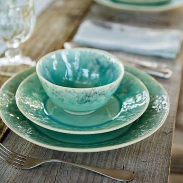 Madeira Blue Salad/ Dessert Plates, Set of 6