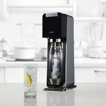 Sparkling water maker, SodaStream, Power Machine, black