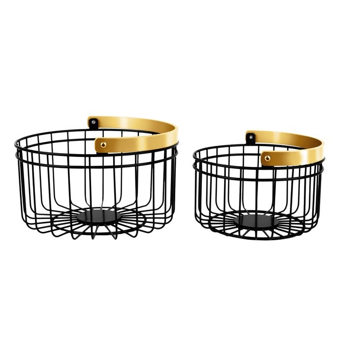 Accents Basket, Set of 2