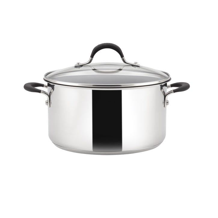 Momentum Stainless Steel Stockpot, 24cm