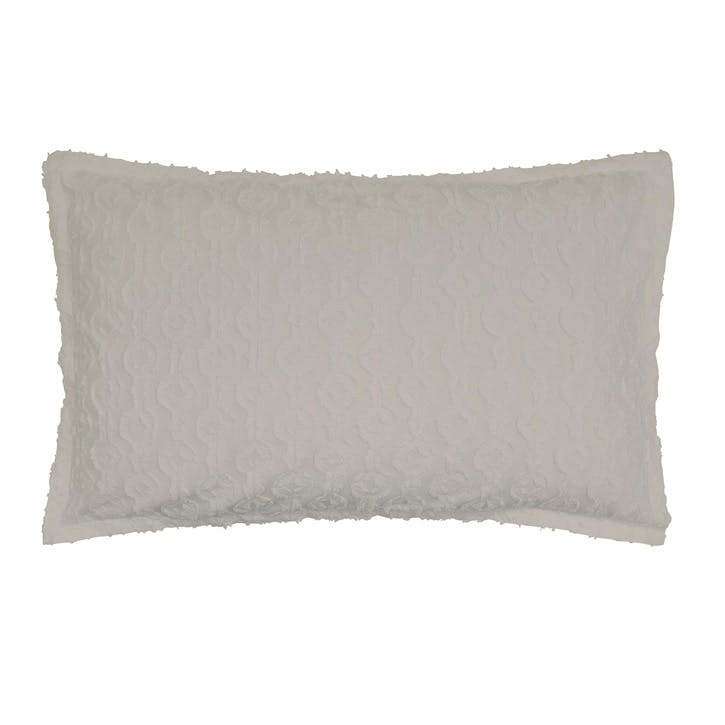 Nara Oxford Pillowcase, Cloud Grey