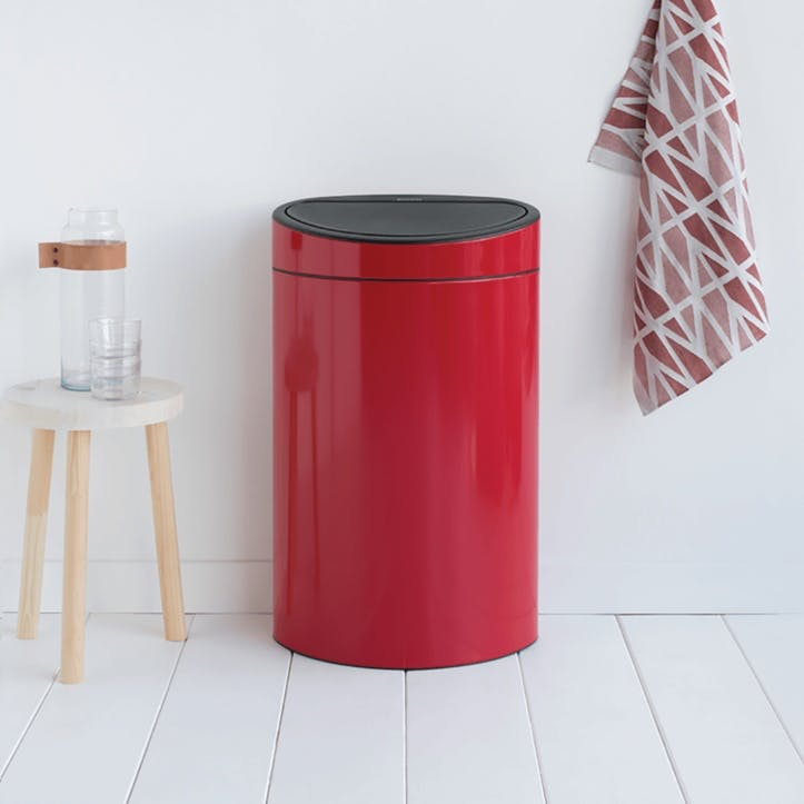 Touch Bin, 40L, Passion Red