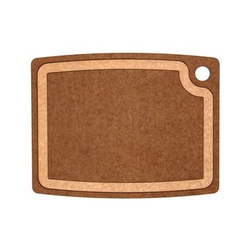 Chopping Board, L37 x W29cm, Nutmeg and Natural