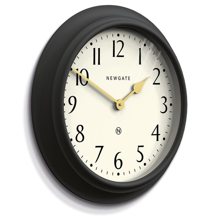 Westhampton Clock, 50cm; Gravity Grey