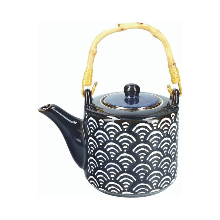 Satori Teapot with Bamboo Handle