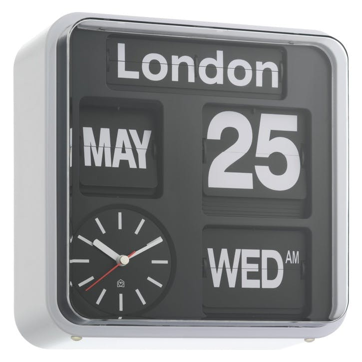Flap Analogue Wall Clock, Small
