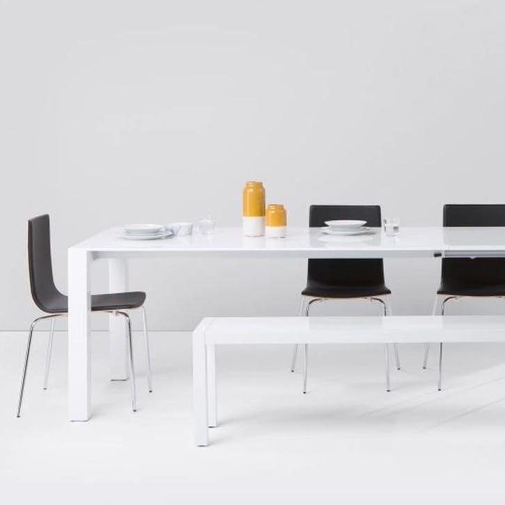 Bramante Extending Dining Table, White