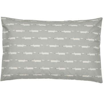 Scion Mr Fox Housewife Pillowcase Pair, Silver