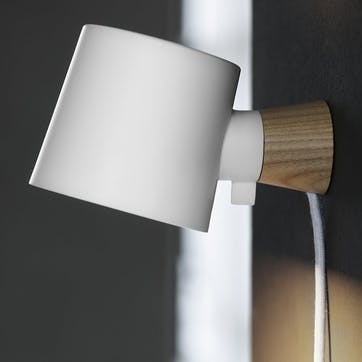 Rise Wall Light L17 x D10 x H9.7cm White