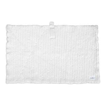 Waffle Bath Mat, L80 x W55cm, Natural White