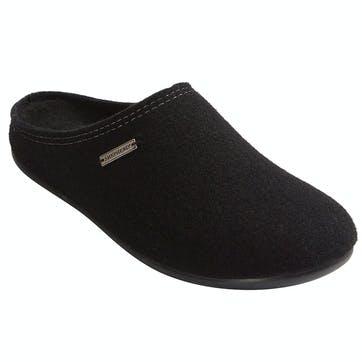 Jon Mens Slippers - Size 10; Black